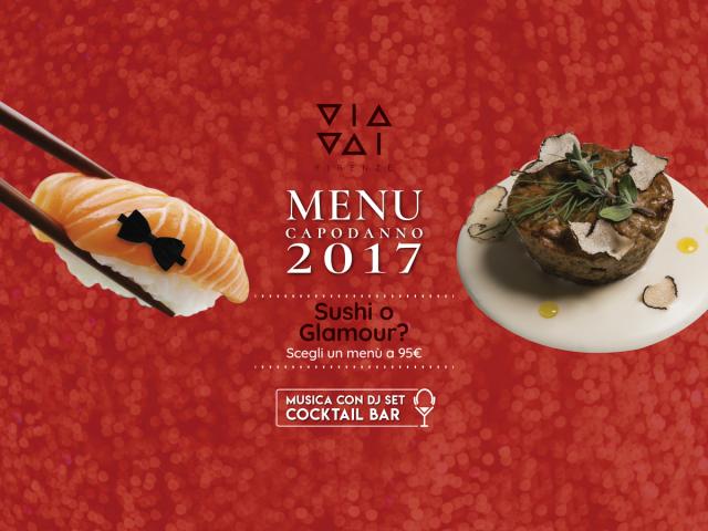 capodanno firenze 2017 ristorante via vai firenze menu sushi o pesce + musica con dj set